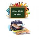 Lista de utiles escolares libreria ventall de lletres en sabadell