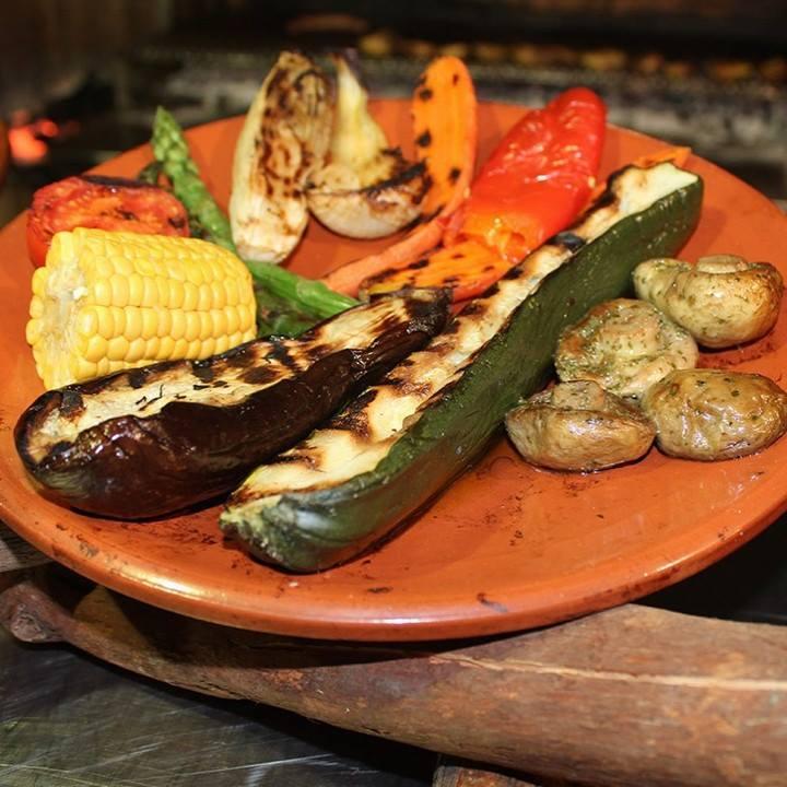 Platos vegetarianos en casa fuster