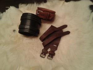 brazaletes de cuero para grabar nombre