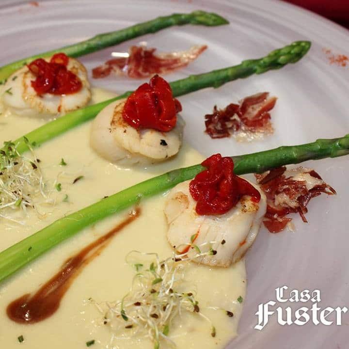 platos de temporada en Restaurante Casa Fuster