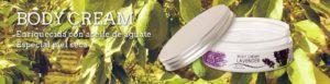 crema hidratante enriquecida con aceite de aguacate