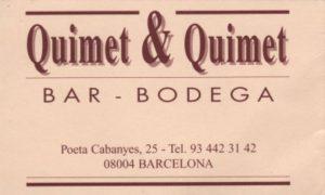 logo del quimet quimet