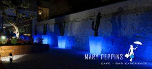 terraza en el restaurante marypeppins sabadell
