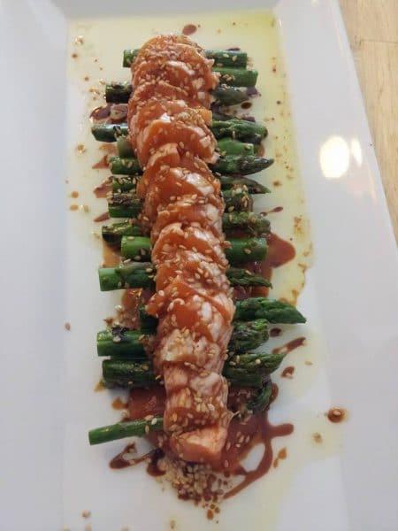 tataki de salmon en barcelona