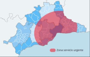 zona de servicio 24 horas