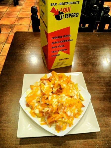 tapa de nachos