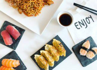 sushi a domicilio