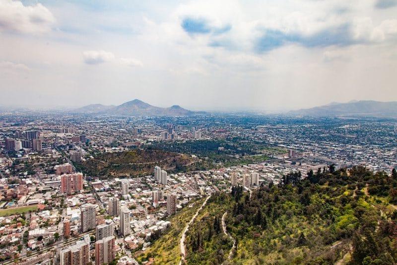 vista de la capital