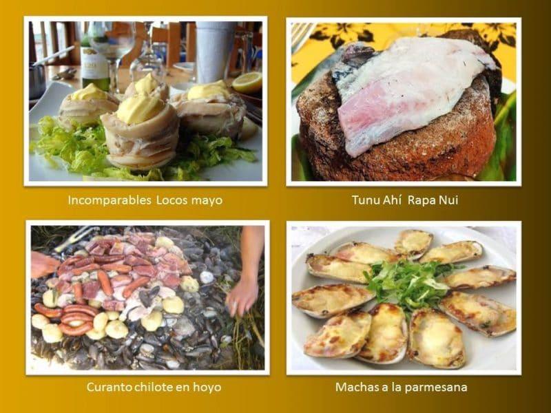 platos tradicionales de Chile