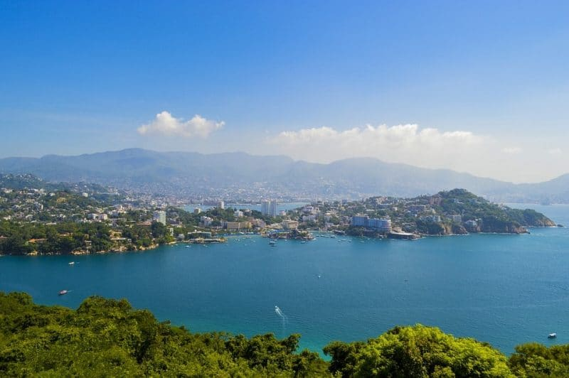vista de la playa acapulco