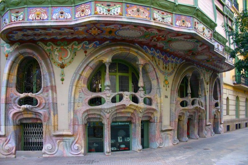 Edificios modernistas de Barcelona