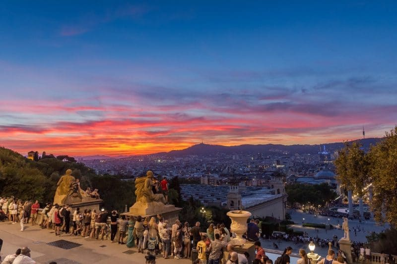 Sube al mágico Montjuïc